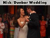 Nick/Dunbar Wedding