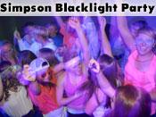 Simpson Blacklight Party 2013