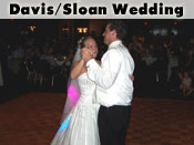 Davis/Sloan Wedding Reception